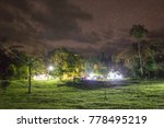 night sky and camping field | Shutterstock . vector #778495219