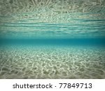 beautiful underwater scene | Shutterstock . vector #77849713