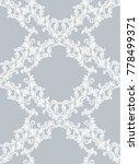 baroque pattern background... | Shutterstock .eps vector #778499371