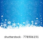 abstract christmas background... | Shutterstock .eps vector #778506151