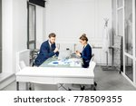 marketer or analityc manager... | Shutterstock . vector #778509355