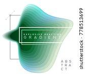 explosive gradient banner... | Shutterstock .eps vector #778513699