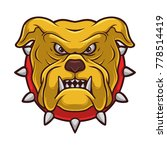 bulldog dog cartoon...   Shutterstock .eps vector #778514419