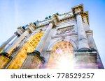 famous siegestor in munich  ... | Shutterstock . vector #778529257