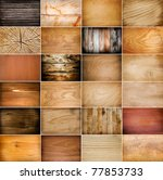 Big Collection Of Wood...