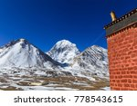 beautiful scenery north face of ... | Shutterstock . vector #778543615