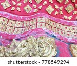traditional thai style stucco...   Shutterstock . vector #778549294