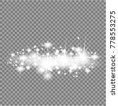 vector white glitter wave...   Shutterstock .eps vector #778553275