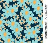 floral seamless pattern. cute... | Shutterstock .eps vector #778560529
