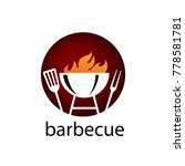barbecue party logo | Shutterstock .eps vector #778581781