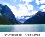 lake louise  banff national... | Shutterstock . vector #778593985