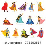 vector illustrations in flat... | Shutterstock .eps vector #778603597