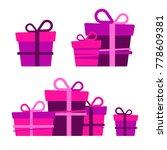 vector set of different... | Shutterstock .eps vector #778609381