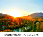 forest nature holiday | Shutterstock . vector #778612675