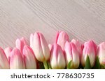 tongue fresh tulips usually... | Shutterstock . vector #778630735