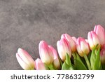 tongue fresh tulips usually... | Shutterstock . vector #778632799