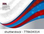flag of usa background for... | Shutterstock .eps vector #778634314