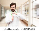 young doctor man time out sign | Shutterstock . vector #778636669