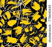 creative seamless pattern.... | Shutterstock .eps vector #778640635