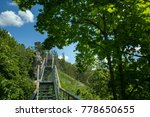 the trail in the picturesque... | Shutterstock . vector #778650655