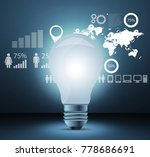 ideas for effective networking... | Shutterstock . vector #778686691