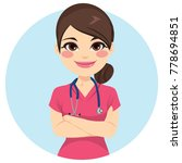 beautiful young professional... | Shutterstock .eps vector #778694851