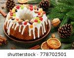 Bundt Cake With Fir Tree...