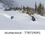 Helicopter Skiing In The...