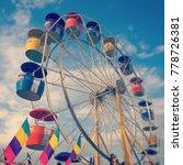 county fair ferris wheel | Shutterstock . vector #778726381