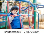 cute child at the playground | Shutterstock . vector #778729324