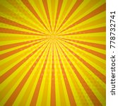 yellow orange autumn colored... | Shutterstock .eps vector #778732741