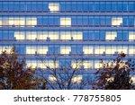 office building in montreal  | Shutterstock . vector #778755805
