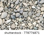 Large Grey Pebble Occupies The...