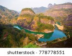 mount wuyi scenery. the picture ... | Shutterstock . vector #778778551