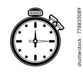chronomter sport timer | Shutterstock .eps vector #778835089