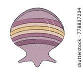 seashell marine symbol | Shutterstock .eps vector #778837234