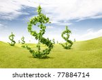 Plant Growing Money Dollar
