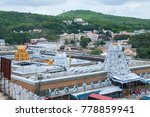 Small photo of TIRUMALA, HYDERABAD,INDIA 31 JULY 2015 : Devotees visit to Tirupati Balaji temple or Venkateswara Temple, The most visited place of Hindu pilgrimage and second in world's richest temples.