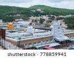 tirumala  hyderabad india 31... | Shutterstock . vector #778859941