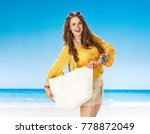 perfect summer. smiling active... | Shutterstock . vector #778872049