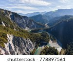 View Into The Rhine Gorge With...