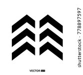 business logo template   Shutterstock .eps vector #778897597