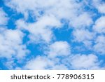 beautiful sky blue and clouds... | Shutterstock . vector #778906315