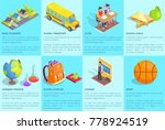 school related collection of... | Shutterstock .eps vector #778924519