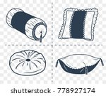 set icons of different shapes... | Shutterstock .eps vector #778927174