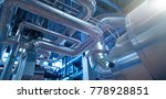 equipment  cables and piping as ... | Shutterstock . vector #778928851
