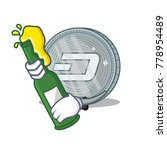with beer dash coin character... | Shutterstock .eps vector #778954489