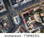 central part of kyiv with arena ... | Shutterstock . vector #778982521