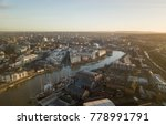 a sunrise in bristol  uk at the ... | Shutterstock . vector #778991791