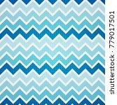 vector seamless pattern. modern ... | Shutterstock .eps vector #779017501